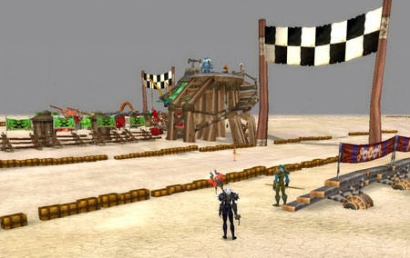 Thousand Needles Race Track